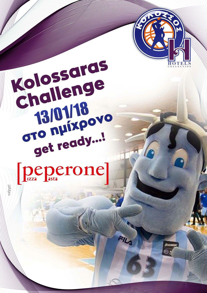 Kolossaras Challenge - Pizza For all by Peperone