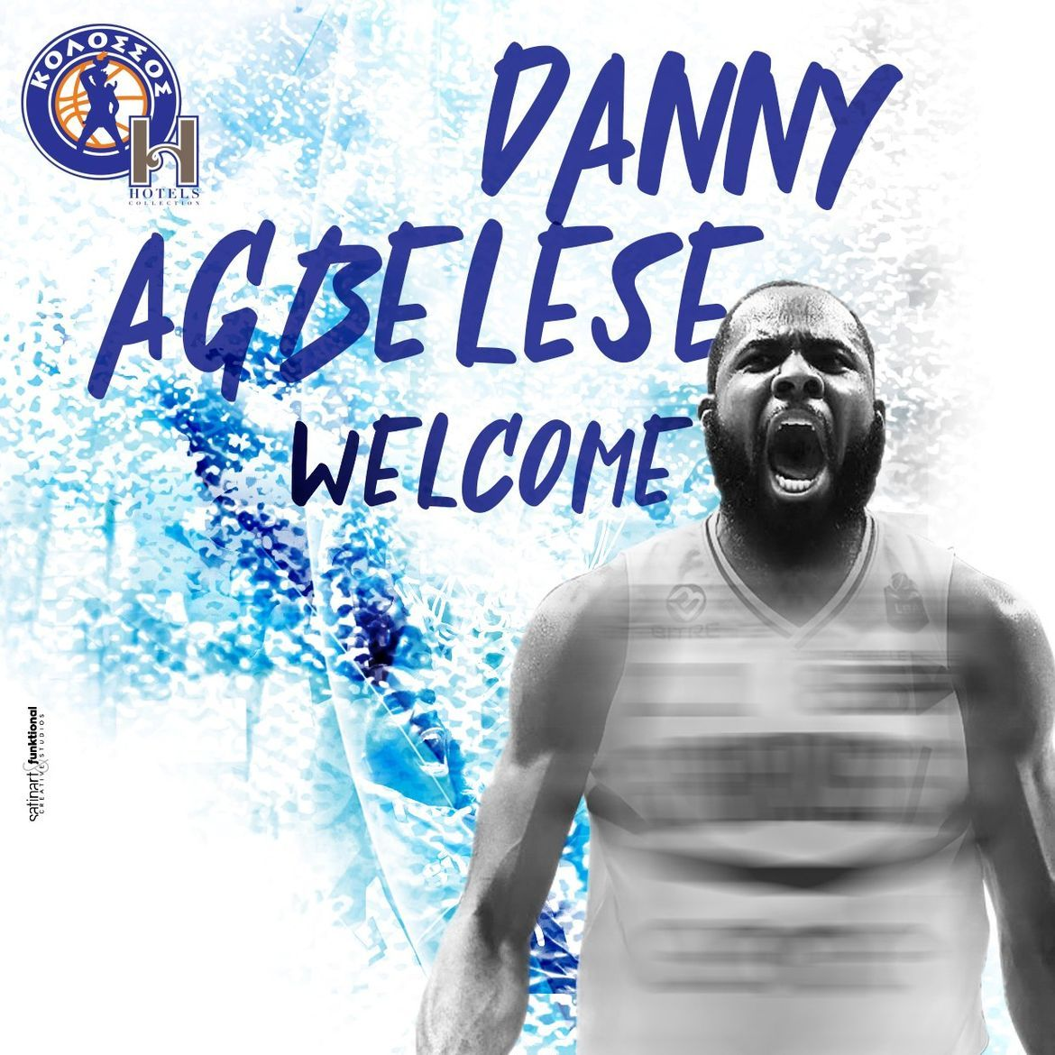 Danny Agbelese CENTER